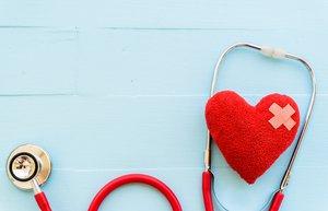 kalp hastaliklari doktor kontrolu steteskop
