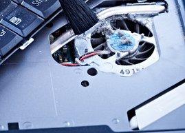 bilgisayar fan temizligi