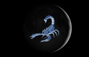 new moon scorpion