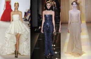 2013 sonbahar kis couture paris moda haftasi favori elbise