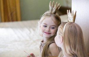 cocuk kiz guzel makyaj prenses