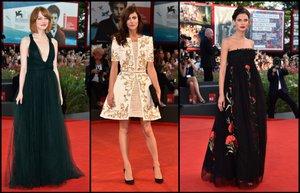 71 venedik film festivali 2014 kirmizi hali unluler unlu