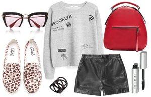 deri sort stil tarz moda kombin sonbahar 2015