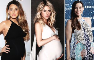 2014 unlu hamile bebek