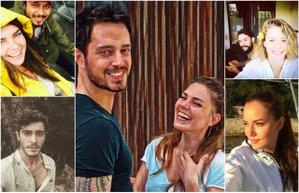 unlulerin instagram fotograflari murat boz asli enver burcu biricik