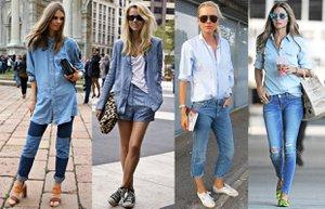denim on denim moda trend