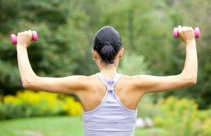 sirt kas egzersiz spor dambil fitness doga saglik