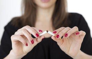 sigara kadin