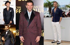 unlu iyi giyinen erkekler