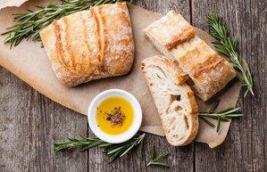 zeytinyagi ve ekmek