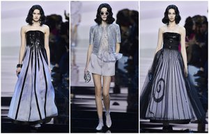 giorgio armani prive 2016 ilkbahar yaz koleksiyonu paris haute couture haftasi