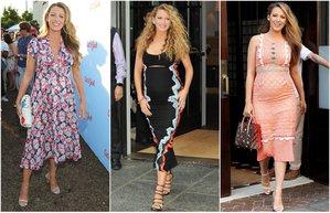 blake lively davet elbiseleri unlu stili