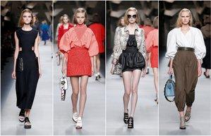 milan fashion week fendi ss 16 milano moda haftasi fendi 2016 ilkbahar yaz koleksiyonu defile mn