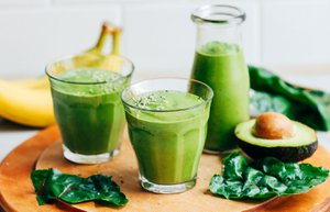 yesil smoothie 2