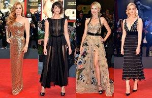 venedik film festivali en siklari moda kirmizi hali
