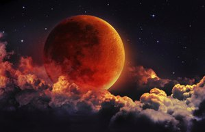 kanli dolunay ay tutulmasi eylul 2015 ay kirmizi blood moon