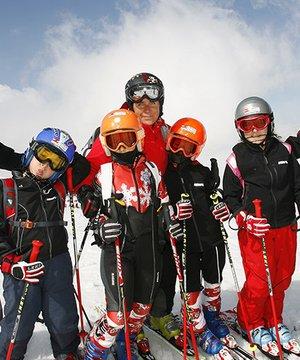 Çocuklar için kayak kampları kayak 1