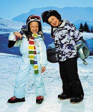Çocuklar için kayak kampları kayak 2
