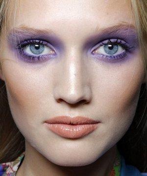 2011 İlkbahar Yaz Göz Makyajı Stilleri makyaj 1