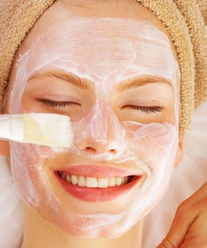 Yoğurtlu maskeler maske 1