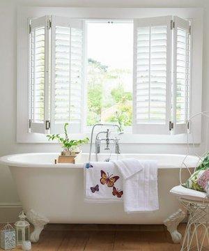 Banyo dekorasyonu için 6 basit öneri banyo dekorasyon beyaz 1