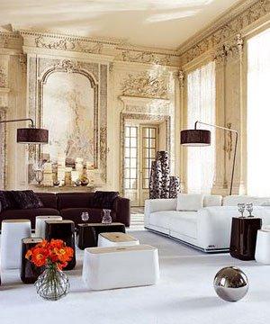 Salon dekorasyonu için 10 öneri dekorasyon salon 1