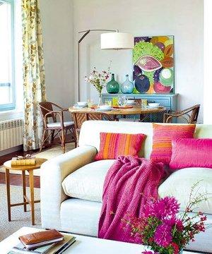 Dekorasyonun 10 püf noktası dekorasyon salon 1