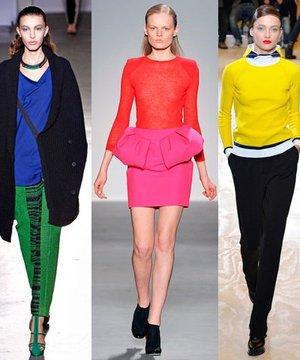 2012 kışının renk trendleri neler? moda 1