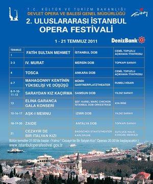Uluslararası İstanbul Opera Festivali opera 1