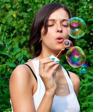 Doğru nefes alıyor musunuz? nefes kadin balon 1