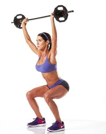 Squat ile halter kaldırma