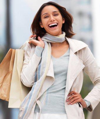 Dünyanın en ünlü alışveriş caddeleri alisveris mutlu kadin 1
