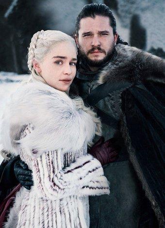 game of thrones khaleesi john snow 2