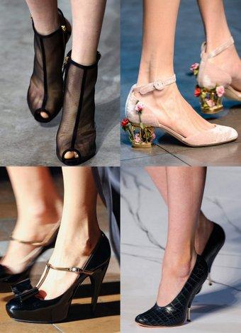2013-2014 Sonbahar Kış ayakkabı trendleri 2013 2014 sonbahar 1