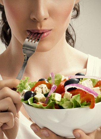 beslenme diyet salata