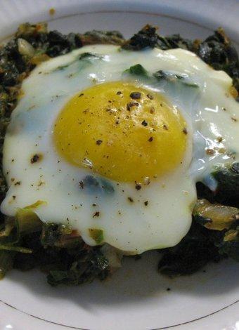 Kan şekeri diyeti yemek tarifleri yumurtali ispanak yemek 2