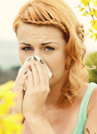 polen alerji nezle
