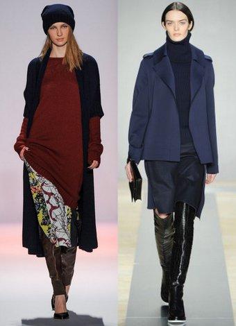 Sonbahar Kış sezonunun en giyilebilir trendleri 2013 2014 sonbahar 1