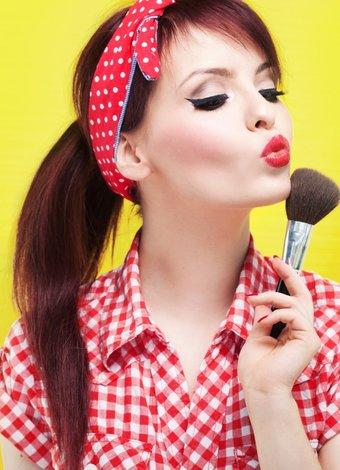 Güzellik ikonlarından ilham alın pin up girl 1