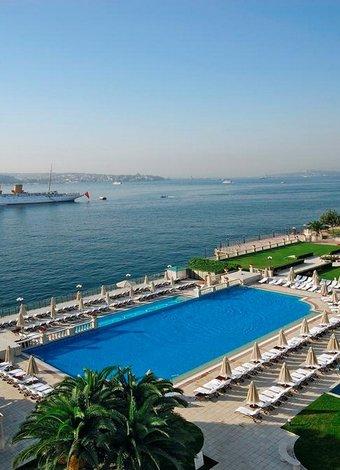 İstanbul'un en güzel havuzları Çırağan Palace Kempinski