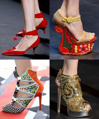 2013 İlkbahar Yaz ayakkabı trendleri 2013 ayakkabi trend 1