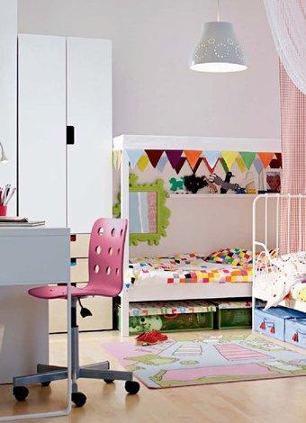 Çocuk ve bebek odası mobilyası nereden alınır? ikea cocuk odasi 2