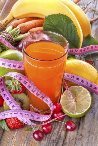 Zayıflarken uzak durulması gereken içecekler diyet meyve suyu 1