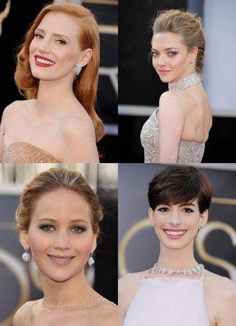 2013 Oscar Ödülleri'nin en güzel makyajları oscar 2013 makyaj 1