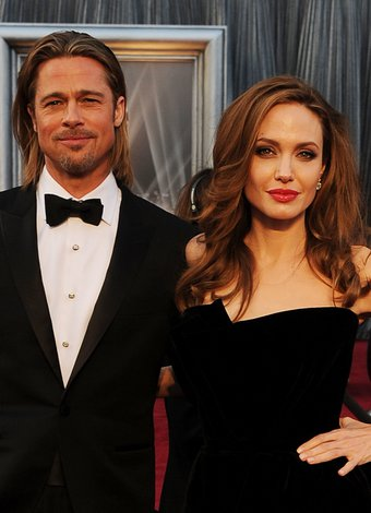 Brad Pitt ve Angelina Jolie'nin aşk hikayesi brad pitt angelina 1