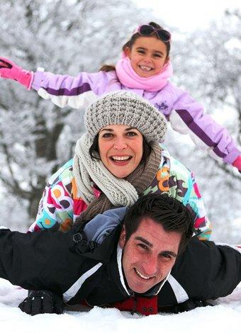 Sömestr için etkinlik önerileri (2015) mutlu aile kayak 2