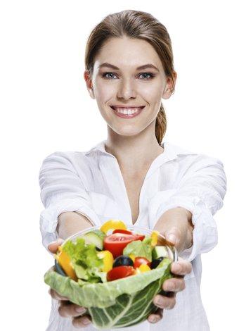 diyet sebze salata beslenme