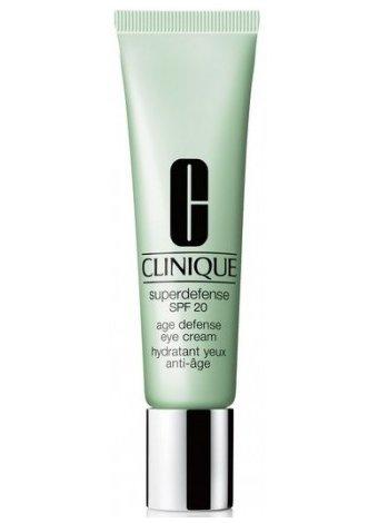 Her yaşa uygun en iyi 10 göz kremi Clinique Superdefense Eye Cream SPF 20