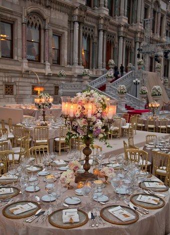 İstanbul'un en güzel düğün mekanları Çırağan Palace Kempinski