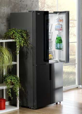 silverline ankastre cift kapili buzdolabi mutfak